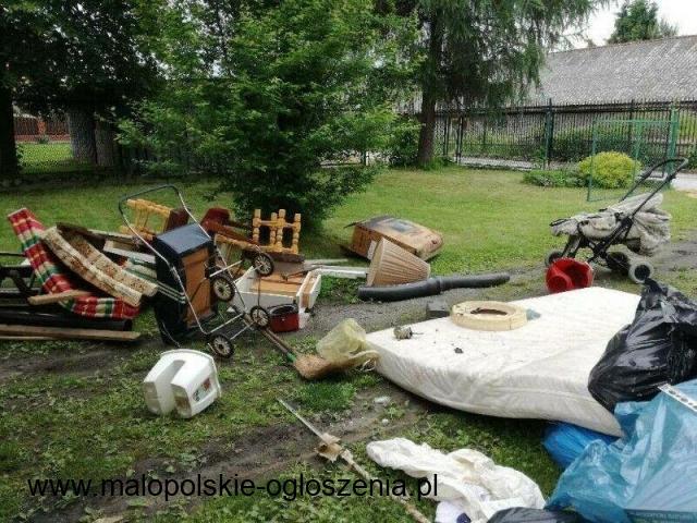 Wywóz starych mebli Libiąż opróżnianie domów